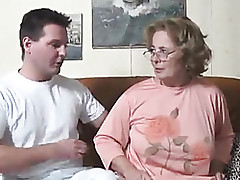 Granny video hot - real mom porno